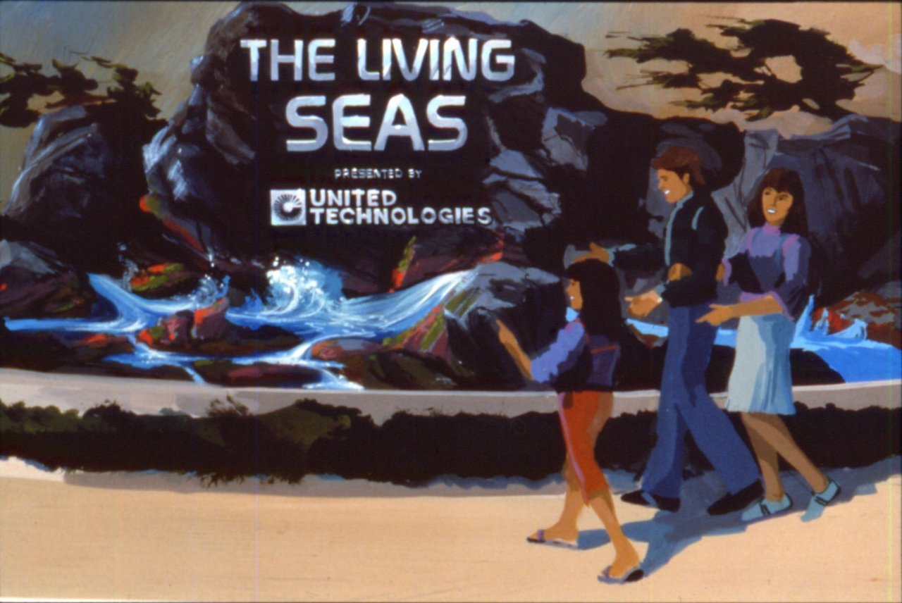The Living Seas