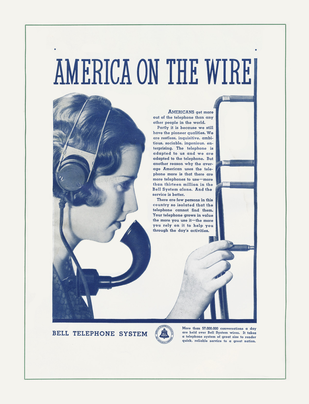 Bell 1934 ad