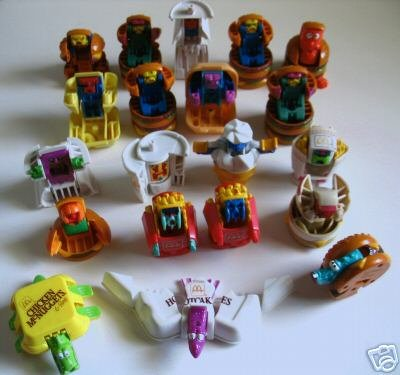 McDonald's Transformers After
