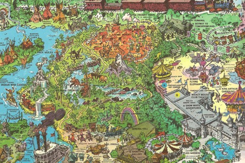 Nature's Wonderland map