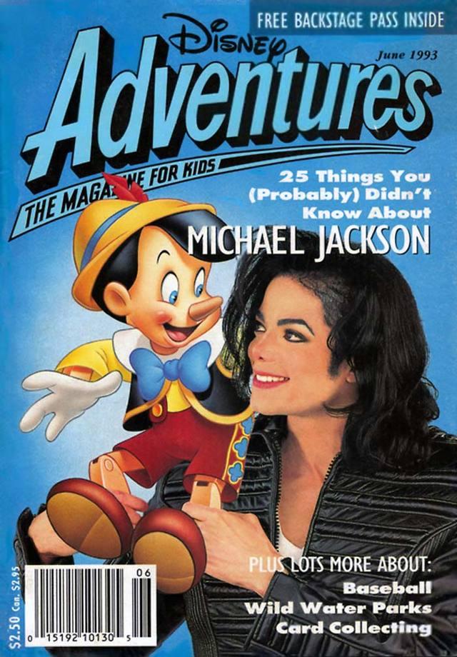 Michael Jackson DA cover