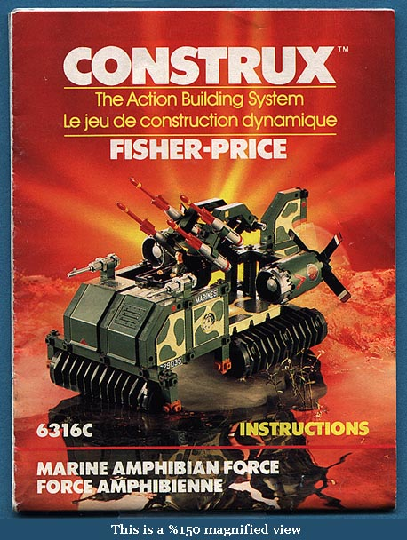 Construx packaging