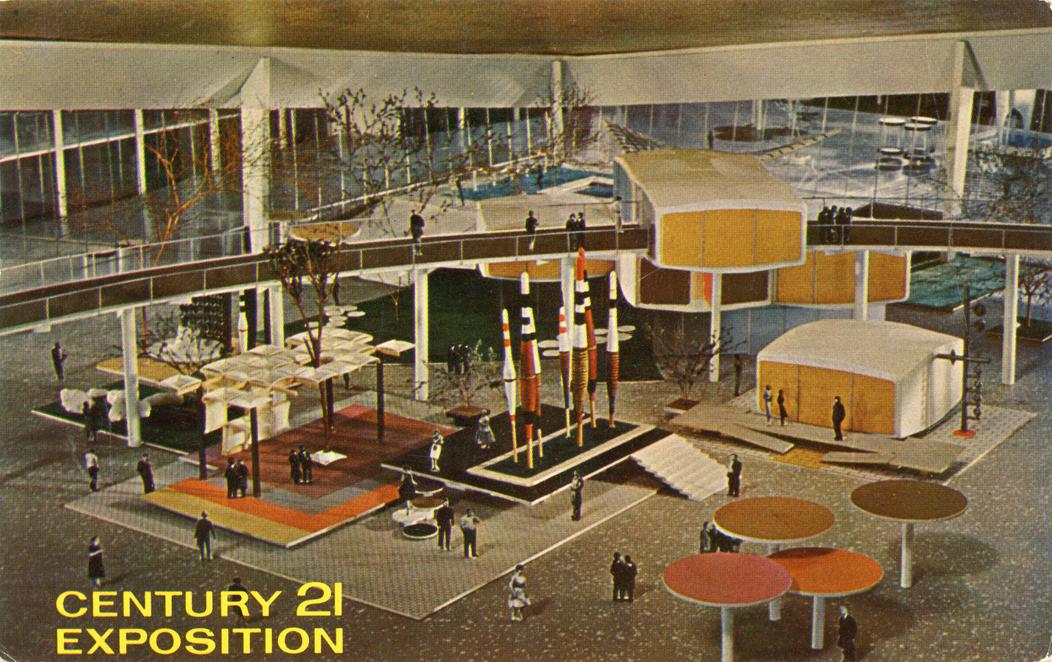 Century 21 Exposition Postcard