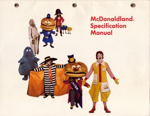McDonaldland manual
