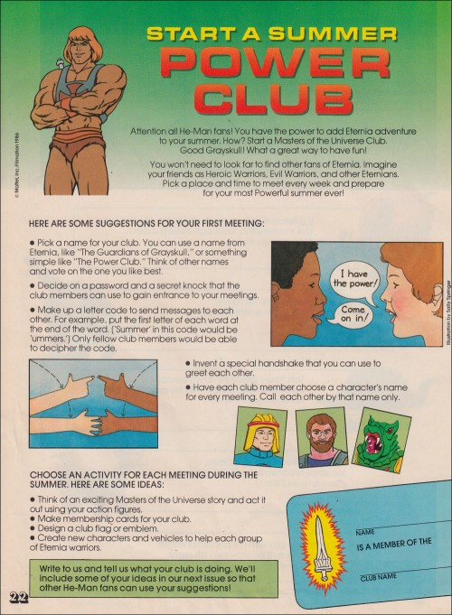 He-Man Power Club