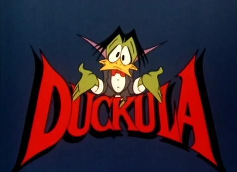 Duckula Title