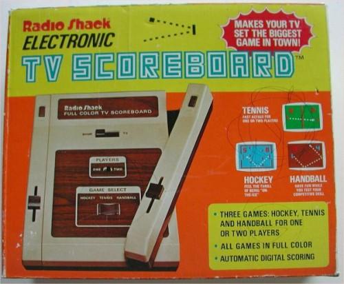 TV Scoreboard