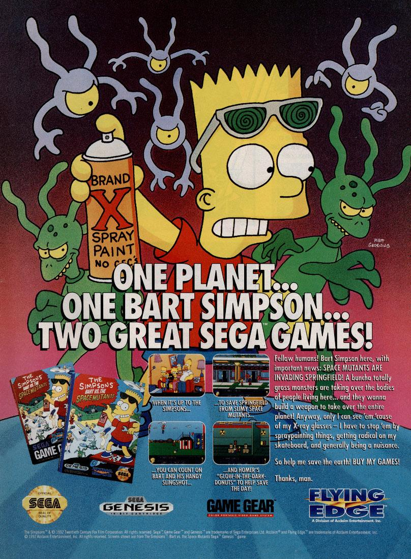 Bart vs. the Space Mutants