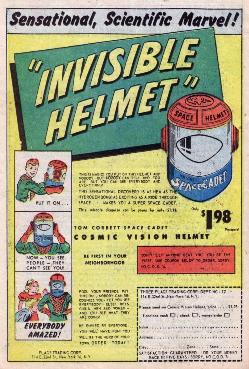 Invisible Helmet