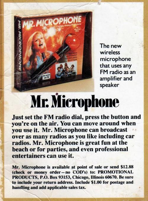 Mr Microphone