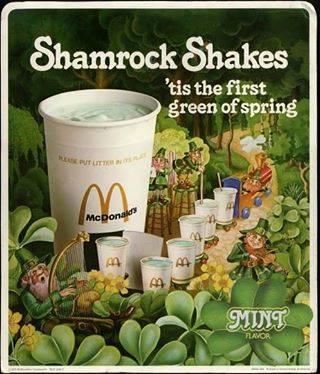 Shamrock Shake Ad