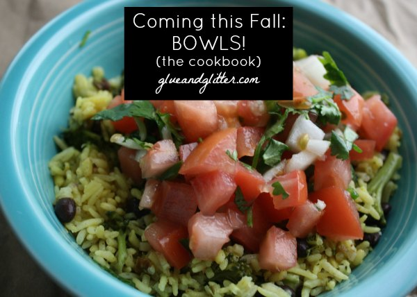 New Vegan Cookbook Coming this Fall: BOWLS! by Becky Striepe