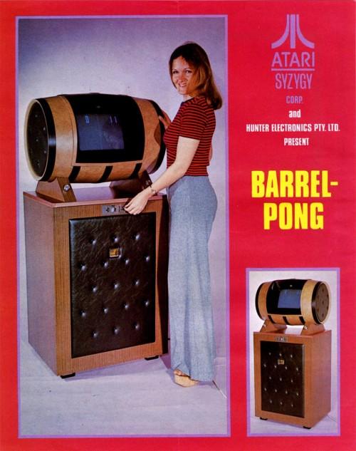 Barrel Pong
