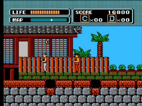 Karate Kid gameplay