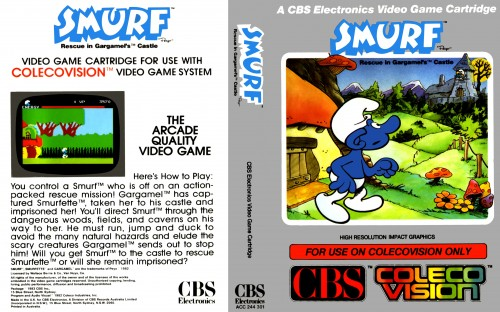 Smurf - Rescue in Gargamel's Castle