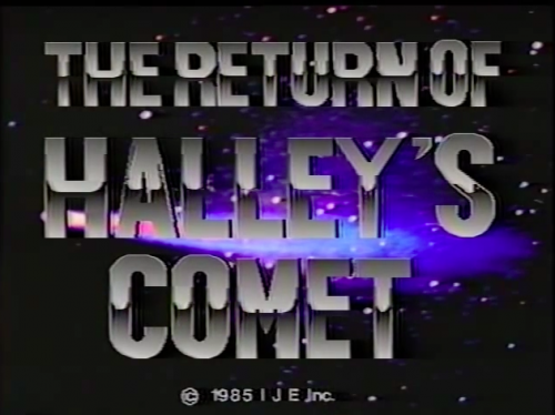 Return of Halley's Comet