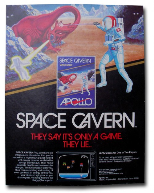 Space Cavern Ad
