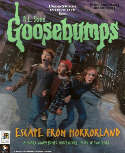 Escape from Horrorland Front