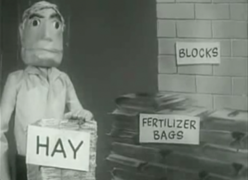 Hay, Fertilizer, Blocks