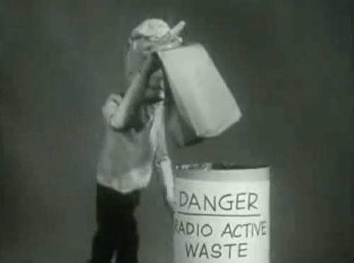 Radioactive Waste Bin