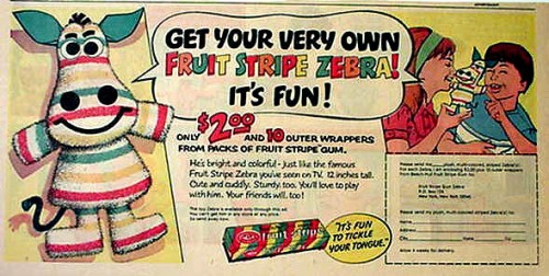 Fruit Stripes Ad