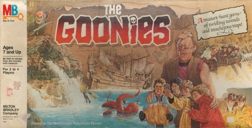 Goonies Board Game Box