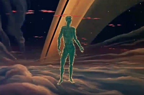 Man on Saturn