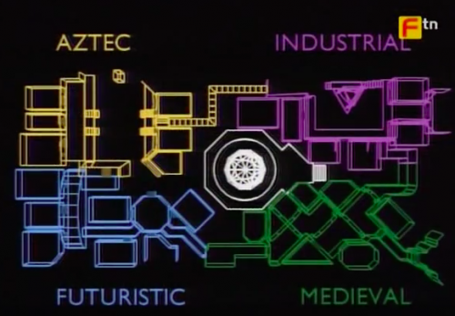 Crystal Maze Map