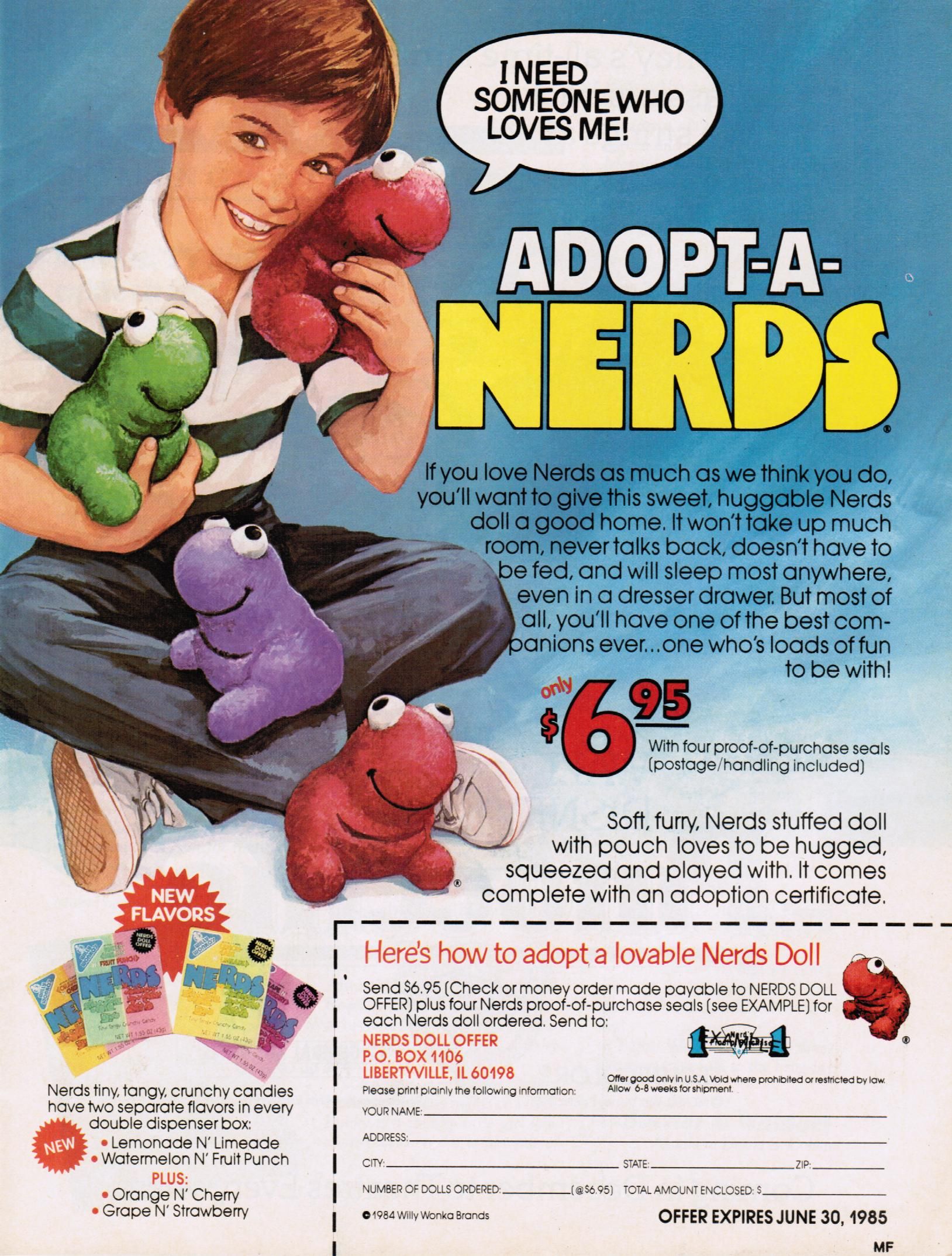 Nerds Plushes