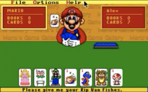 Timid futures for Mario go fish